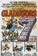 Affiche du film Les Sept Gladiateurs