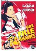 Affiche du film Une Fille a Bagarres