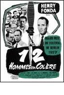 Affiche du film 12 hommes en col�re