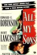 Affiche du film Ils Etaient Tous Mes Fils