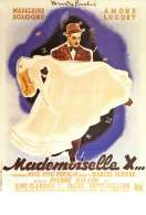 Affiche du film Mademoiselle X