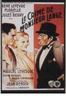 Le crime de Monsieur Lange, le film
