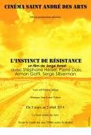 Affiche du film L'Instinct de r�sistance