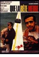 Affiche du film Que la b�te meure