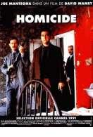Affiche du film Homicide