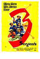 Affiche du film Les Trois Sergents