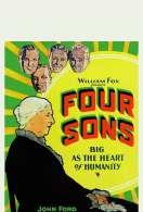 Affiche du film Les Quatre Fils
