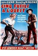 Affiche du film Cinq Fusils a l'ouest