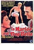 Affiche du film La Mariee est Trop Belle