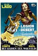 Affiche du film La l�gion du Sahara