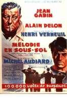 Affiche du film M�lodie en sous-sol