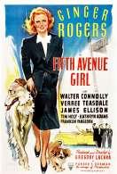 Affiche du film La fille de la Cinqui�me Avenue