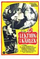 Affiche du film Une le�on d'amour