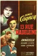 Affiche du film 13 rue madeleine
