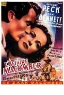 Affiche du film L'affaire Macomber