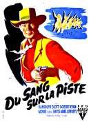 Affiche du film Du Sang Sur la Piste