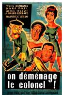Affiche du film On Demenage le Colonel