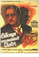 Affiche du film L'�trange Monsieur Victor