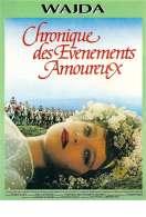 Affiche du film Chronique des évènements amoureux