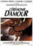Ceremonie d'amour, le film