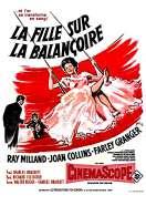 Affiche du film La fille sur la balan�oire