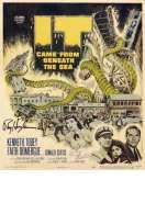 Affiche du film Le Monstre Vient de la Mer