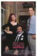 Affiche du film Tante Julia et le scribouillard