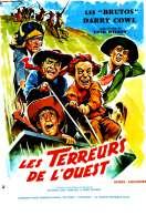 Affiche du film Les Terreurs de l'ouest