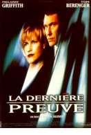Affiche du film La derni�re preuve