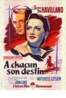 Affiche du film A Chacun Son Destin