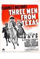 Affiche du film Trois Hommes du Texas