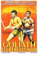 Affiche du film Goliath et l'hercule Noir