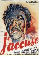 Affiche du film J'accuse