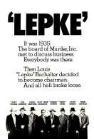 Affiche du film Lepke le Caid