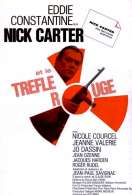 Affiche du film Nick Carter et le Trefle Rouge