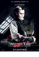 Affiche du film Sweeney Todd, le diabolique barbier de Fleet Stree...