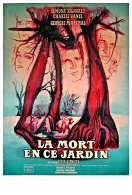 Affiche du film La mort en ce jardin