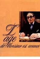 Affiche du film L'age de Monsieur est Avance
