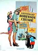 Affiche du film Lieutenant Robinson Crusoe