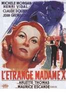 Affiche du film L'etrange Madame X