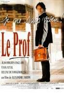Affiche du film Le prof