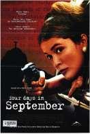 Affiche du film Quatre jours en septembre