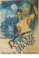 Affiche du film R�volte � bord
