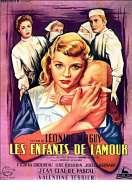 Affiche du film Les enfants de l'amour