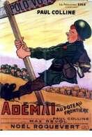 Affiche du film Ademai Au Poteau Frontiere
