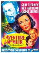 Affiche du film L'aventure de Madame Muir
