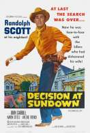 Decision at Sundown, le film