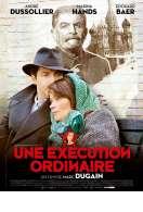 Affiche du film Une ex�cution ordinaire