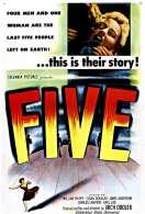 Affiche du film Les cinq survivants