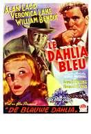 Affiche du film Le dahlia bleu